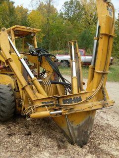 Big John 34B L Tree Spade Transplanter Skid steer Skidsteer Hydra Mac