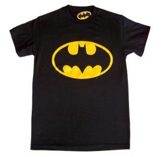 Classic Batman Logo Dark Knight Mens T Shirt Tee s M L XL