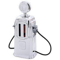 Replica Gas Pump Bar Butler w Dual 2 Beverage Dispenser`S