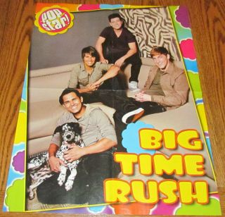 BIG TIME RUSH Logan Kendall James Carlos Group POSTER TV Stars 16 X20