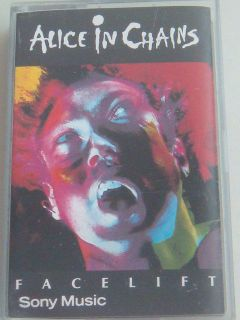 ALICE IN CHAINS FACELIFT MALAYSIA CASSETTE TAPE RARE USED