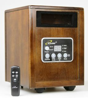 Infrared Space Quartz Heater by Dr Heater 2X More Hot Air