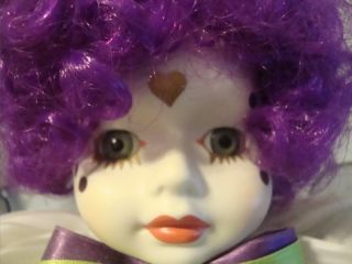Porcelain Limited Edition Betty Jane Carter Clown Dolls Nicki #563