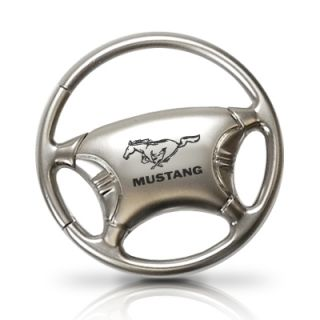 Ford Mustang Steering Wheel Key Chain Key Ring Freegift