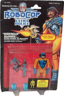 Robocop Birdman Barnes Action Figure RARE New Hot