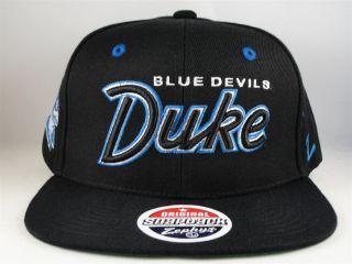 NCAA DUKE BLUE DEVILS ZEPHYR FLAT BILL SNAPBACK HAT CAP GREEN