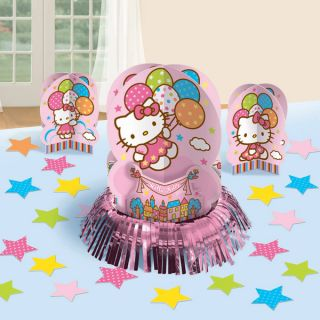 23pc Hello Kitty Table Decorating Kit Birthday Party Supplies