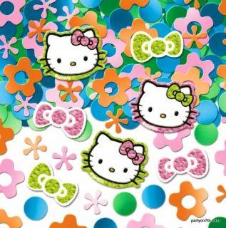 Hello Kitty Confetti Prismatic Birthday Party Supplies