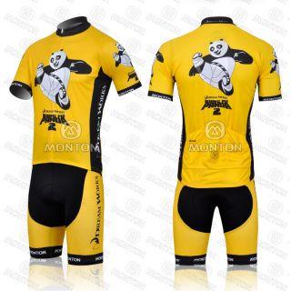 2012 Boys Cycling Bicycle Suits Jersey Bib Shorts Bike Riding Set