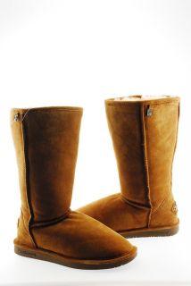 New Bearpaw Bianca Tall II Womens Pull on Mid Calf Winter Boot Shoe