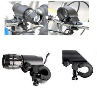 Clip Cycling Bicycle Flashlight LED Torch Light Holder Grip Mount Bike