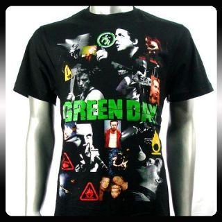 Green Day Billie Joe Punk Rock Band T Shirt Sz XL