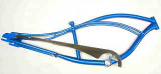 26 Fantasy Stretch Beach Cruiser Bike Frame Blue ( 4 colors)