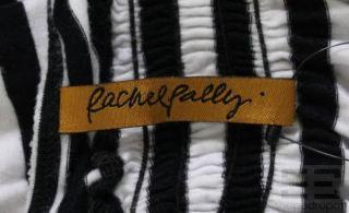 Rachel Pally Black White Striped Sleeveless Maxi Dress Size XS