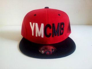 Young Money Cash Money Billionaires Red Black Snapback Cap
