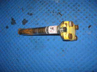 12 Tonka mighty bike bicycle parts steering shaft handle bar mount