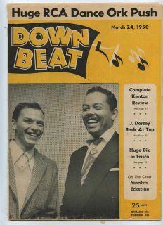 1950 Frank Sinatra Billy Eckstine Jimmy Dorsey RARE R B MBX55