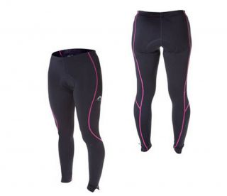 More Mile Ladies Thermal Cycling Bike Pants Padded Women Trousers