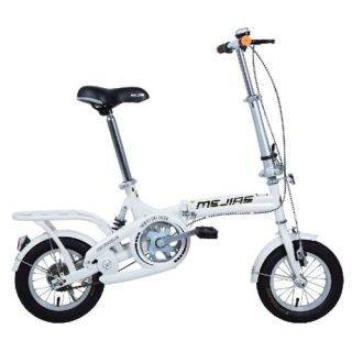 inch Hitensile Steel Single Speed Folding Bicycle Foldable Bike