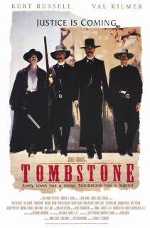 Movie Promo Poster 1993 Kurt Russell Val Kilmer Michael Biehn