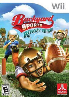 Backyard Sports Football Rookie Rush New Nintendo Wii