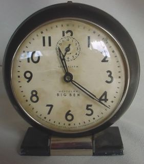 This Big Ben Clock was made by Western Clock Co., Limited