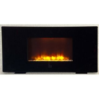 New Big Electric Flat Panel Wall Mount Fireplace Heater Free Stand LED