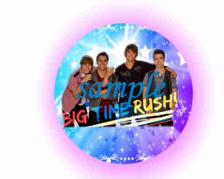 Big Time Rush Cupcakes Edible Cake Topper You Choose