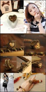 fashion hot leopard love heart elastic cord ring 100 % brand new 100 %