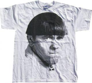 The Three Stooges Moe Big Face Mens Tee Shirt Pick Sz