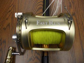 80W Fast Run Big Game Fishing Rod and Reel
