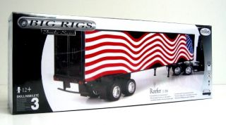 Testors Big Rig Trailer Series Reefer 1 28 Model Kit Free SHIP in Cont