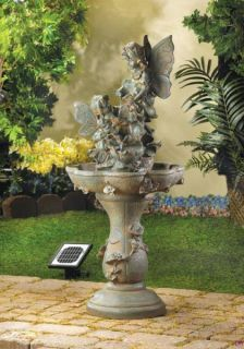 Fairy Solar Powered Garden Water Fountain Pump Included