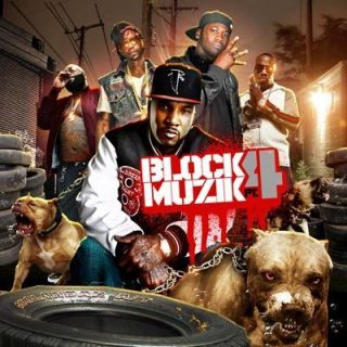 Jeezy Lil Wayne T I Meek Mill Birdman Block Muzik 4 Rap Mixtape