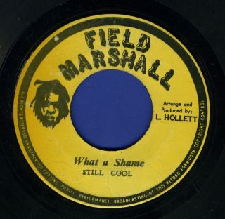 Cool What A Shame Militants Steve Biko Massive Reggae 45 7