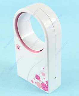 No Leaf Air Condition Mini Bladeless Refrigeration fans With USB Cable