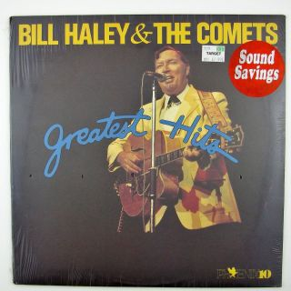 Bill Haley The Comets Greatest Hits LP Still SEALED
