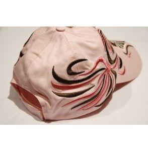 Comfortable Spurs Pink Cross Womens Cap Hat Western Soft Cowgirl Visor