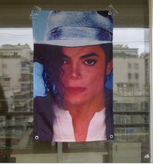 New Michaeljackson MJ Billie Jean Excellent Banner Flag