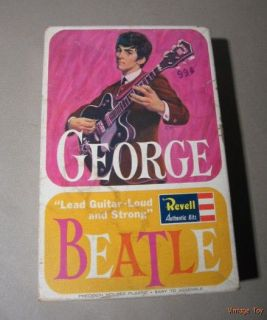 Original Revell The Beatles George Harrison 1 8 Model Kit 1964