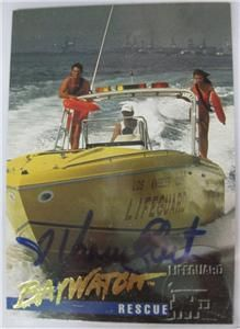 Sports Time BAYWATCH YASMINE BLEETH AUTO AUTOGRAPH SP RARE Bay Watch