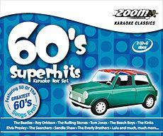 Zoom Karaoke Classics 60s Superhits 3 Disc Karaoke CDG