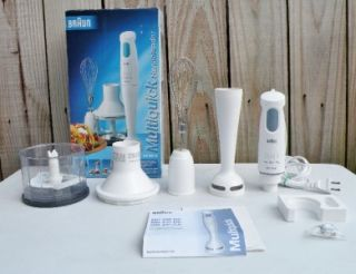 Braun Multiquick Hand Blender Chopper Mixer Stick Blender