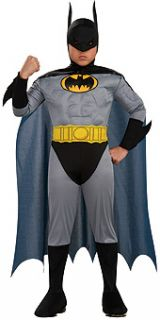 Batman The Dark Knight Complete Costume w Muscle Chest Rubies
