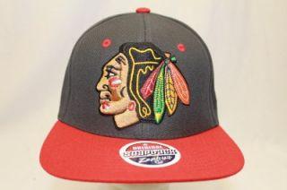 Chicago Blackhawks NHL Zephyr Zhat Snapback Hat Cap Gray REFRESH