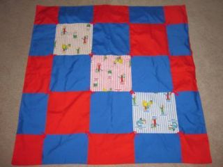 Vintage Sesame Street Baby Throw Blanket One of A Kind