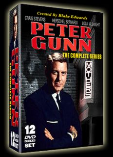 Peter Gunn The Complete Series 12 DVD set 114 episodes 1958 1961