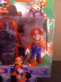 Mario Kart 64 Mario Figure Super RARE 1999 Toy Biz