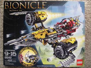 LEGO BIONICLE 8942 Jetrax T6 Limited Edition NISB Big Toy Set for