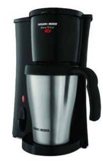 Black & Decker Brew n Go SINGLE CUP Coffeemaker with Travel Mug Coffee